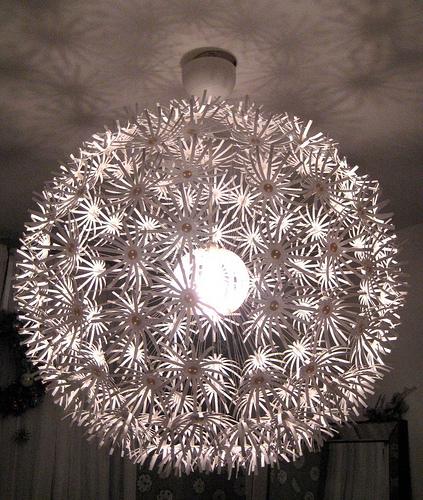 lampa papierowa