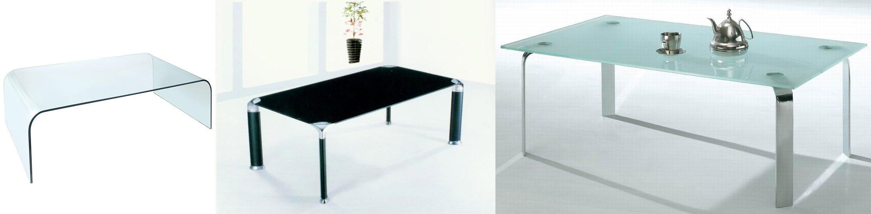 stoły ze szkła