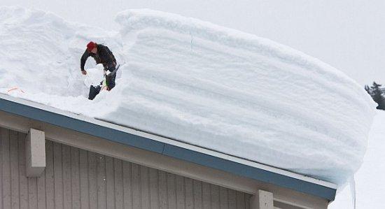 Czy trzeba odśnieżać dach budynku?