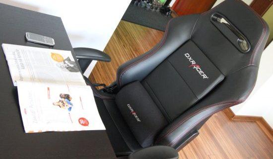 DXRacer test fotela OH/D03/N